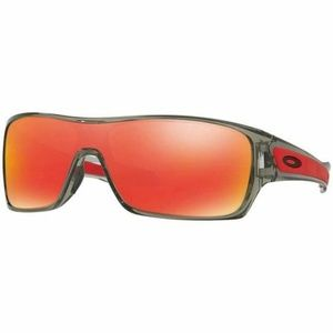 Oakley Rectangular Sunglasses W/Ruby Iridium Lens